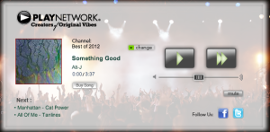 PlayNetwork Web Radio