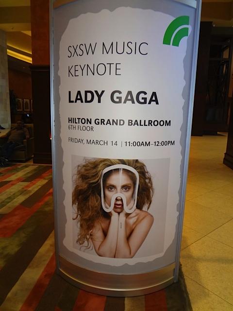 Lady Gaga SXSW Keynote